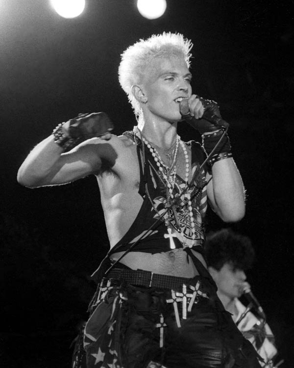 Billy Idol Hulst