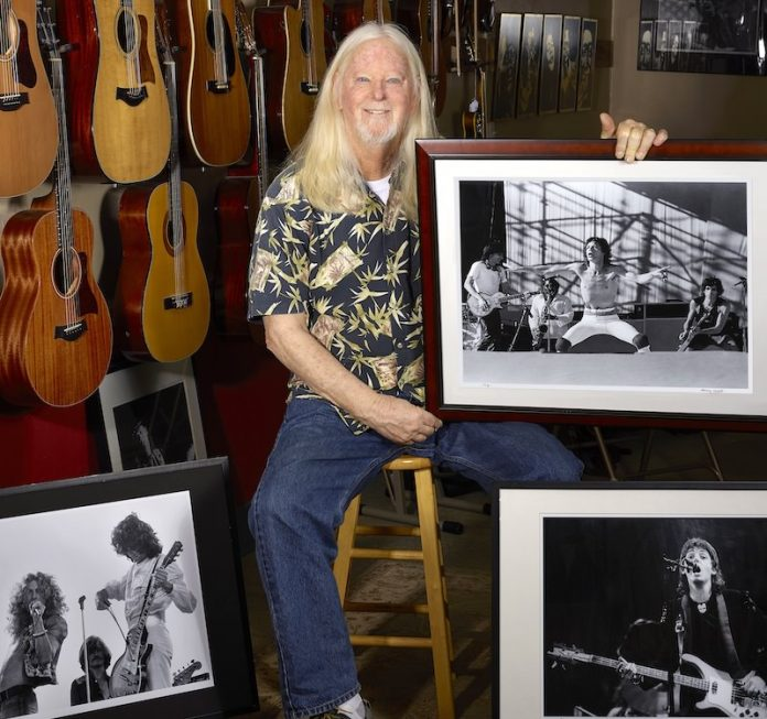 Q&A: Rock Photographer Larry Hulst
